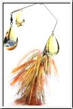 MUSKY MAYHEM HURRICANE - GOLD ORANGE GOLD