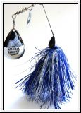 MUSKY MAYHEM CYCO SPINNER 2.5 - BLUE BLACK SILVER NICKEL